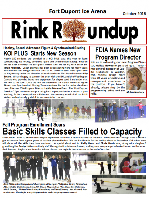 FDIA Newsletter October 2016